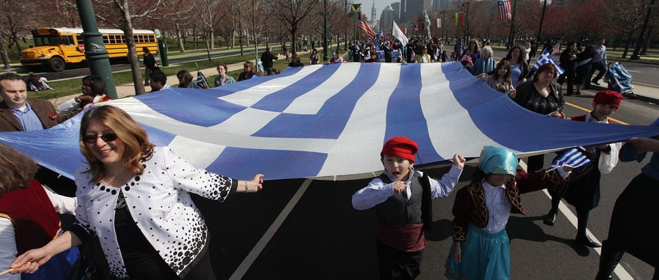 Greek Independence Day Parade in Philadelphia, 2012 - Image courtesy of Eleftherios Kostans / Cosmos Philly